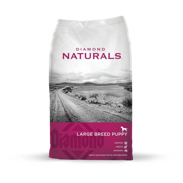 Naturals Large Breed Lamb Flavor Puppy Food
