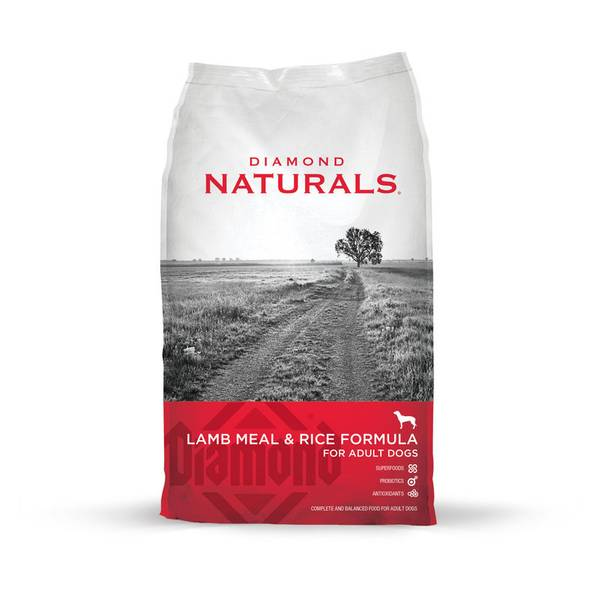Naturals Adult Lamb & Rice Dog Food