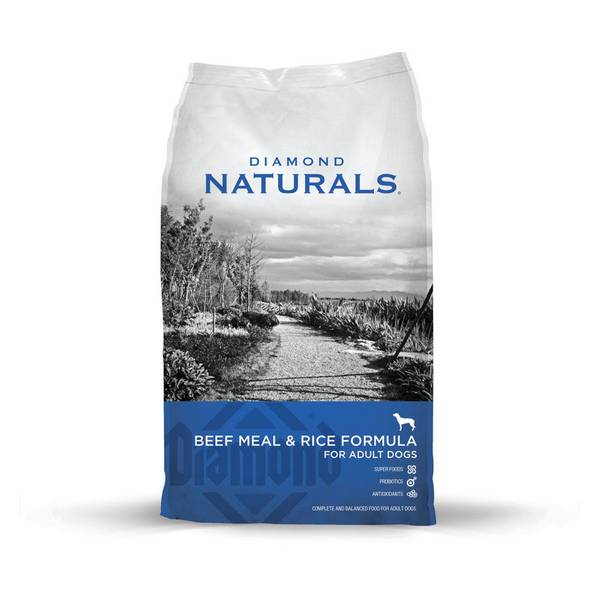 Naturals Adult Beef & Rice Dog Food