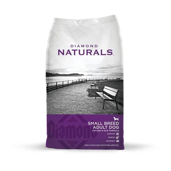 Naturals Small Breed Chicken & Rice Formula Dog Food