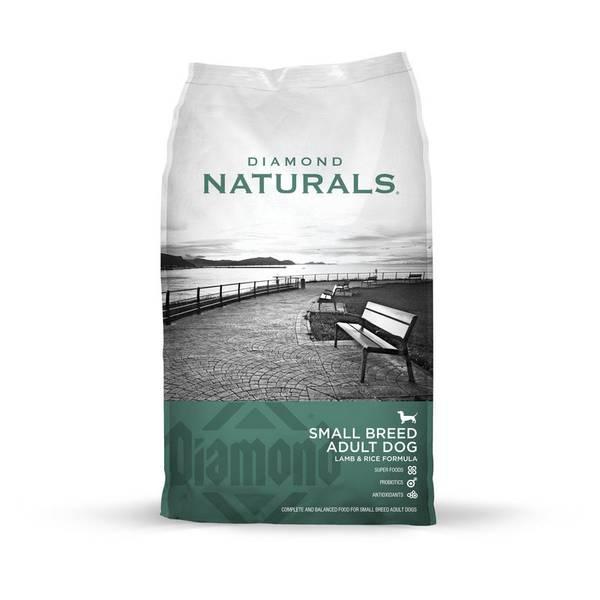 Naturals Small Breed Adult Dog Lamb & Rice Formula
