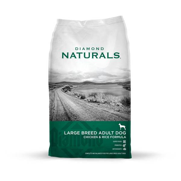 Naturals Large Breed Chicken& Rice Dog Food