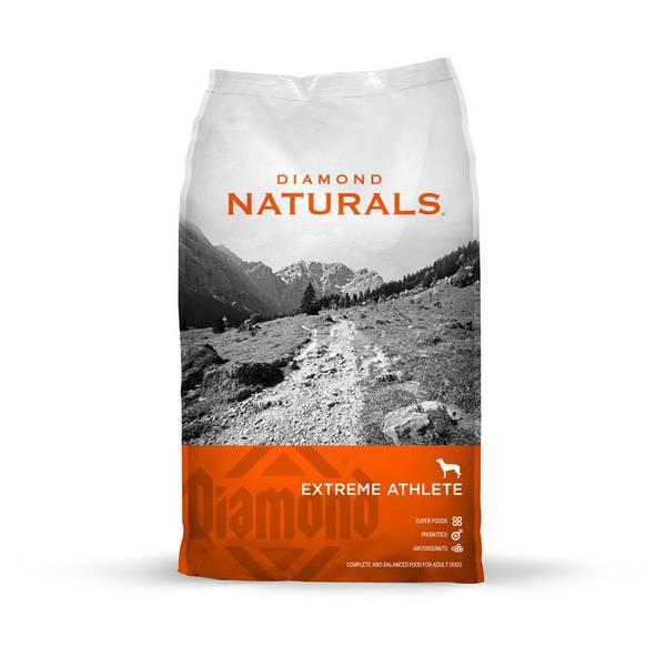 Naturals Chicken & Rice Extreme Athlete Dog Food