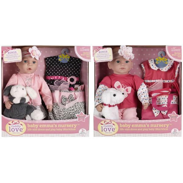 "Kingstate 18"" Baby Emma's Nursery Assortment"