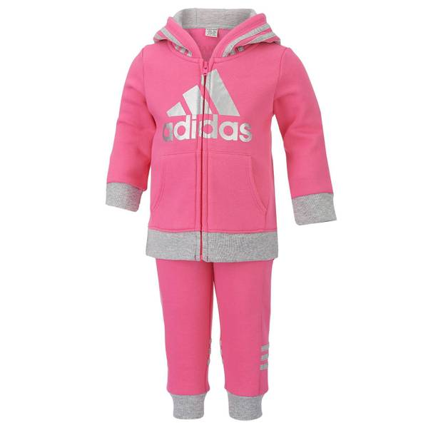 Baby Girls' 2-Piece Sweatsuit
