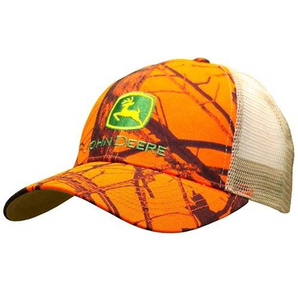 Men's Orange & Mossy Oak Mesh Back Cap