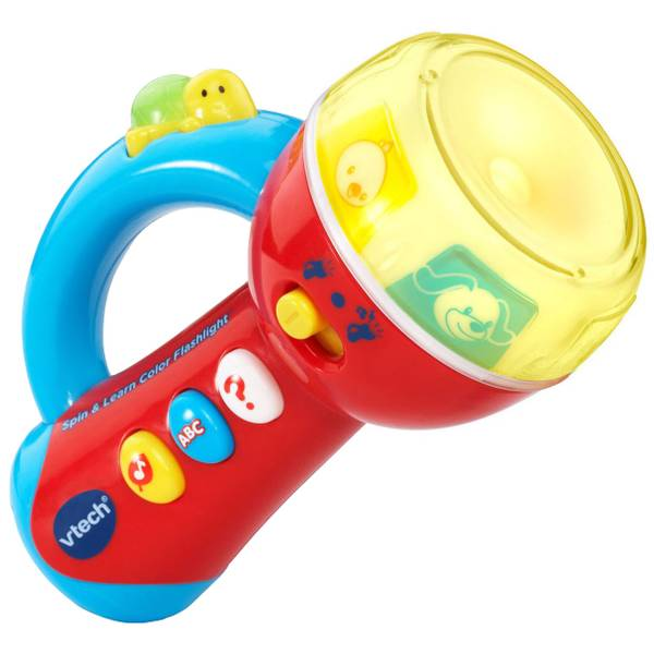 Spin & Learn Color Flashlight