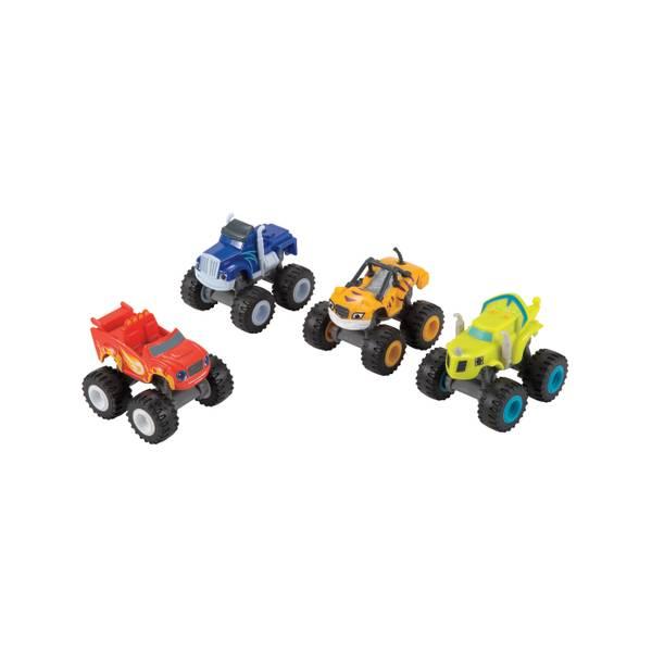 Nickelodeon Monster Machines Blaze & Friends Vehicle 4-Pack Assortment