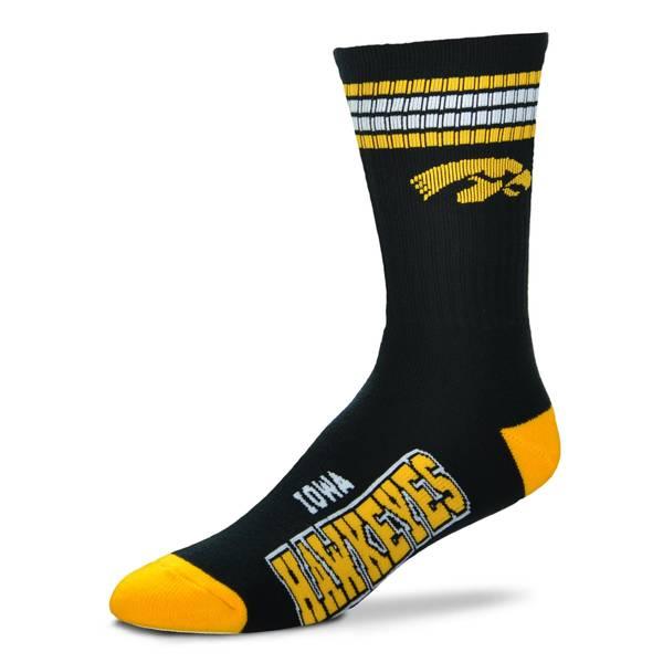 University of Iowa Team Color Crew Socks