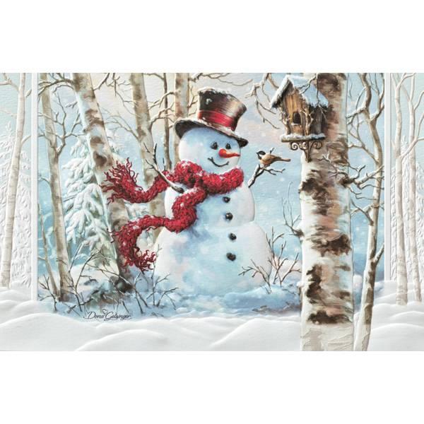 Birchwood Snowman Christmas Cards