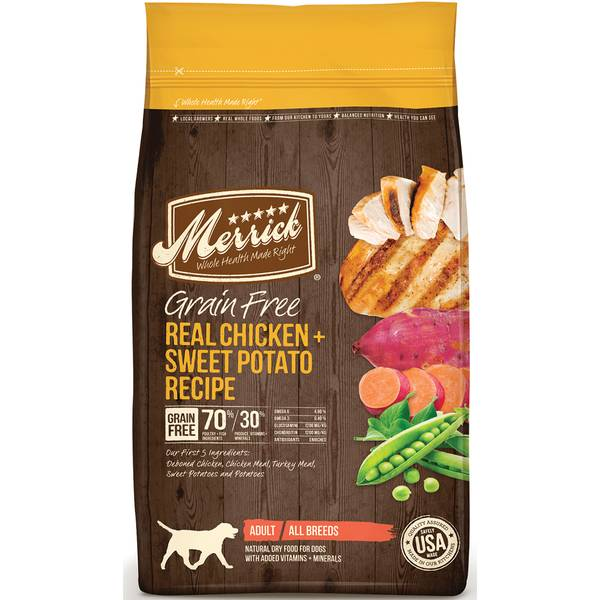 25 lb Grain Free Chicken & Sweet Potato Dog Food