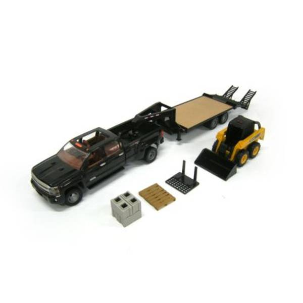 1:16 Big Farm Truck with Skid Steer