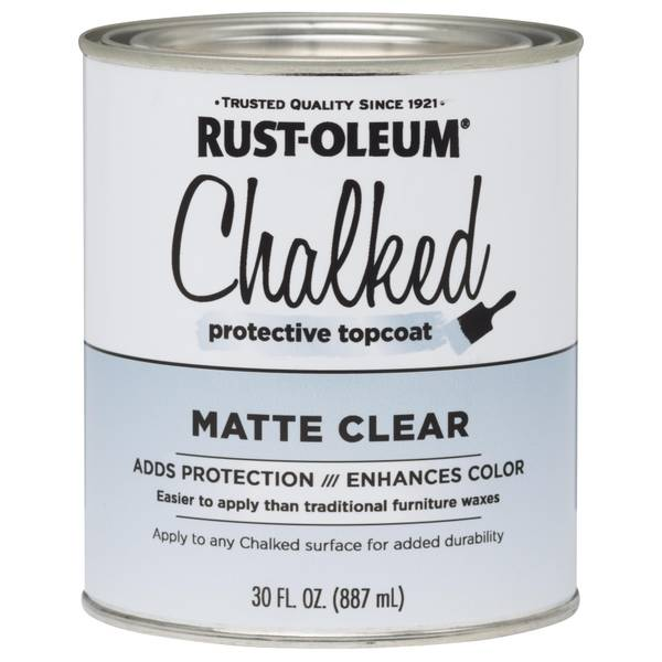 Tint Chalked Protective Topcoat Paint