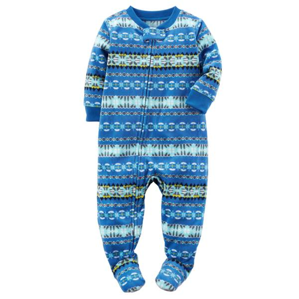 Baby Boys' 1-Piece Fleece Pajamas