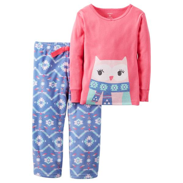 Baby Girls' 2-Piece Pajamas