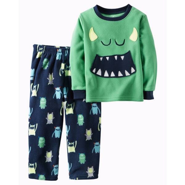 Baby Boys' 2-Piece Fleece Pajamas