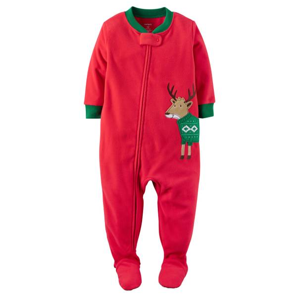 Baby Boys' 1-Piece Christmas Pajamas