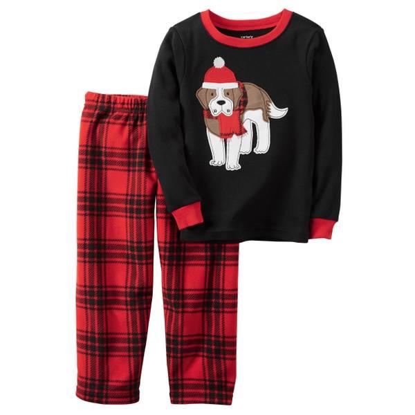 Boys' 2-Piece Christmas Pajamas