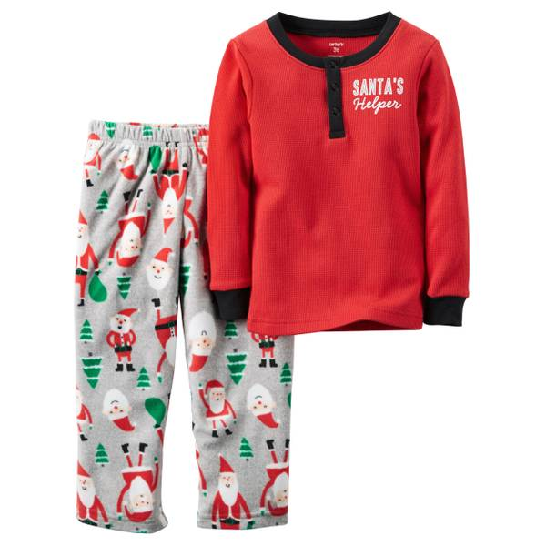 Boys' 2-Piece Christmas Pajamas