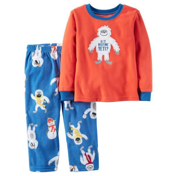 Boys' 2-Piece Fleece Pajamas