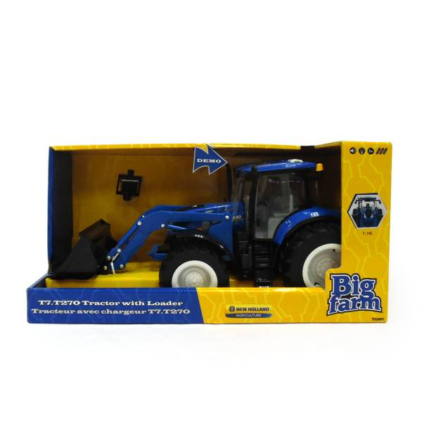 1:16 Big Farm New Holland T7.270 Tractor with Loader
