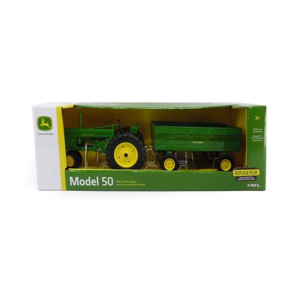 1:16 50 Tractor with Flarebox Wagon