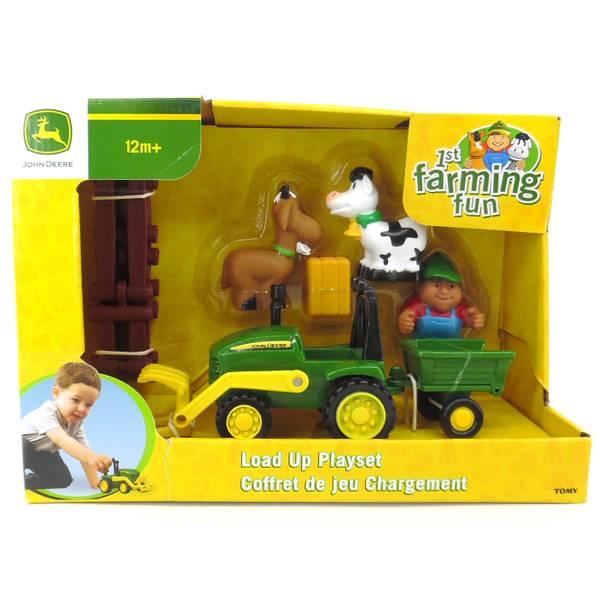 John Deere 1st Farming Fun Load-Up Playset