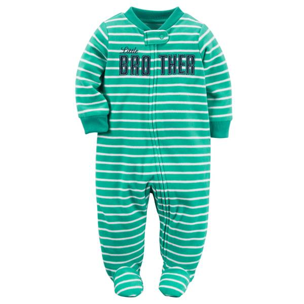 Baby Boys'  Sleep & Play Zip-Up Jumpsuit