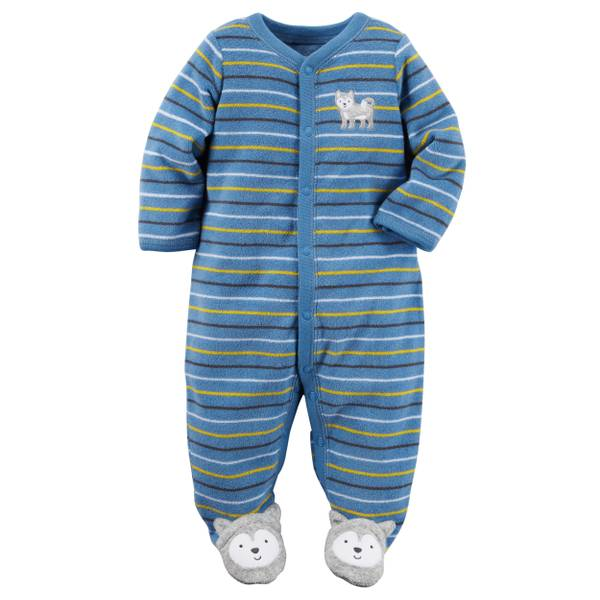 Baby Boys'  Sleep & Play Snap-Up Jumpsuit