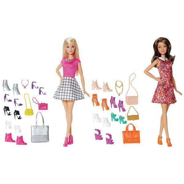 Doll with Shoes Assortment