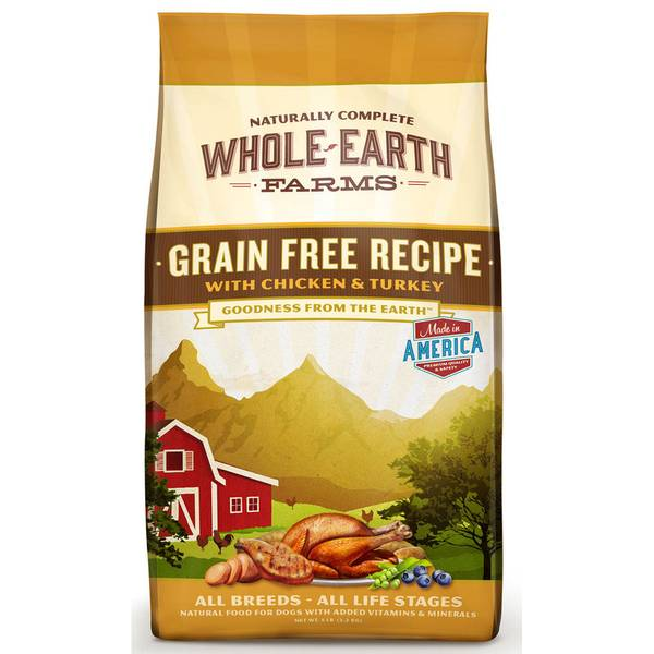 Grain Free Chicken & Turkey Dog Food