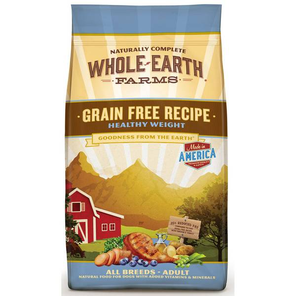 25 lb Grain Free Healthy Weight Recipe Dog Food