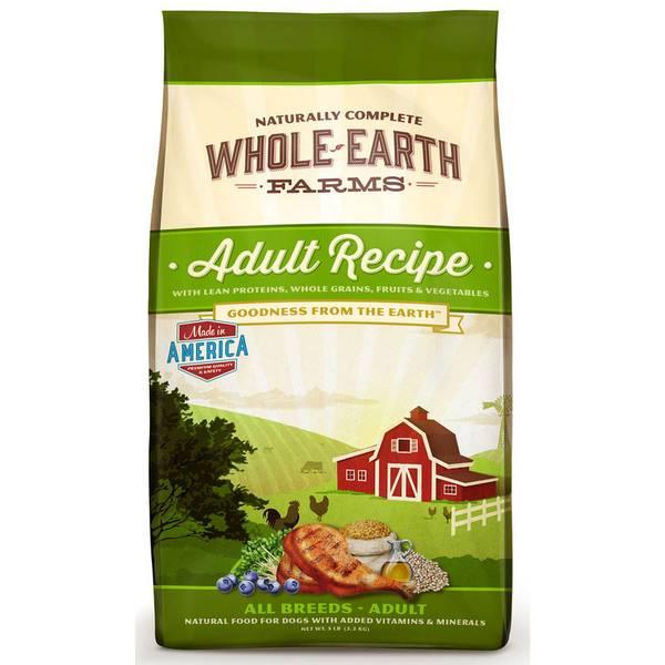 25 lb Adult Recipe Dry Dog Food