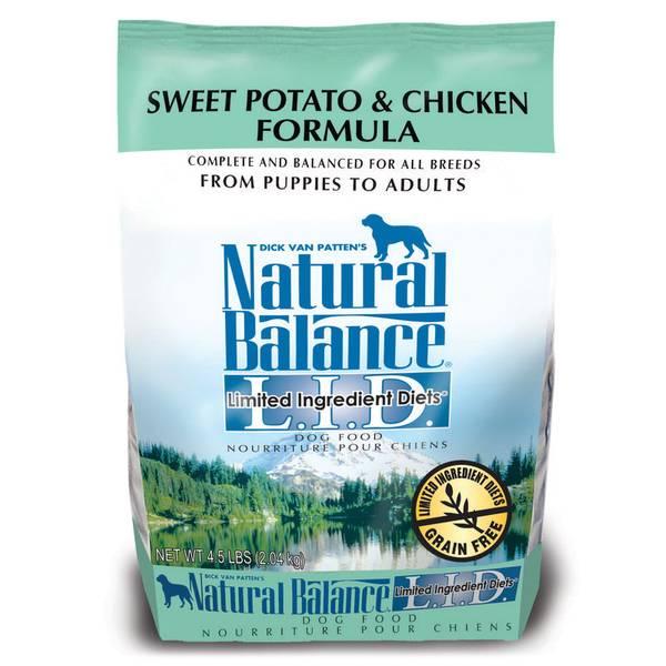 L.I.D. Sweet Potato & Chicken Dry Dog Food