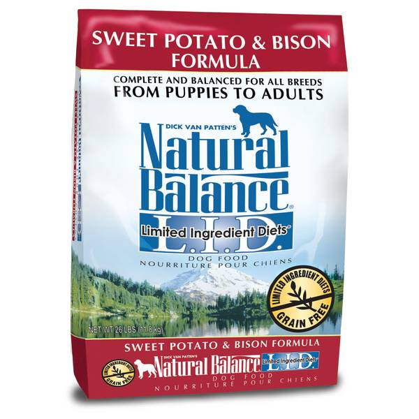 L.I.D. Sweet Potato & Bison Dog Food
