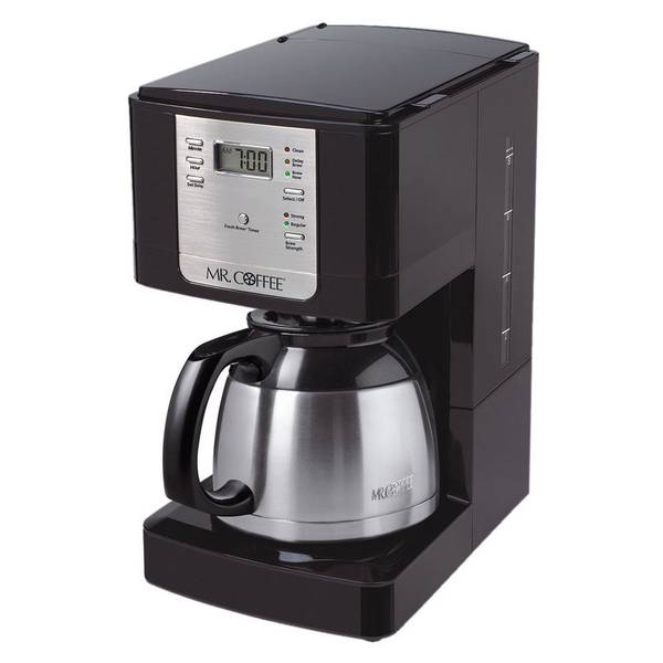 Mr Coffee No Carafe Coffee Maker Reviews : Mr. Coffee Advanced Brew Programmable Coffee Maker with Thermal Carafe
