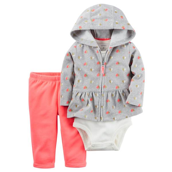 Baby Girl's Multi-Colored Little Jacket Set