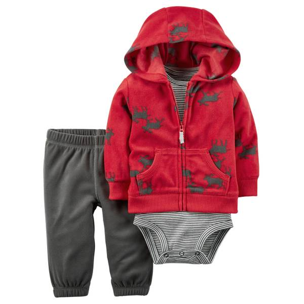 Baby Boy's Multi-Colored 3-Piece Little Jacket Set