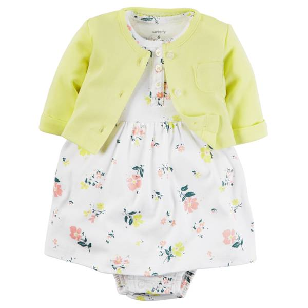 Baby Girls' 2-Piece Dress Set