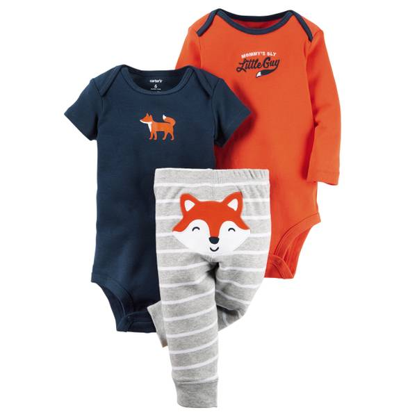 Baby Boys' 3-Piece Little Character Set