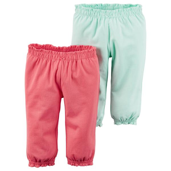 Baby Girls' 2-Pack Pants