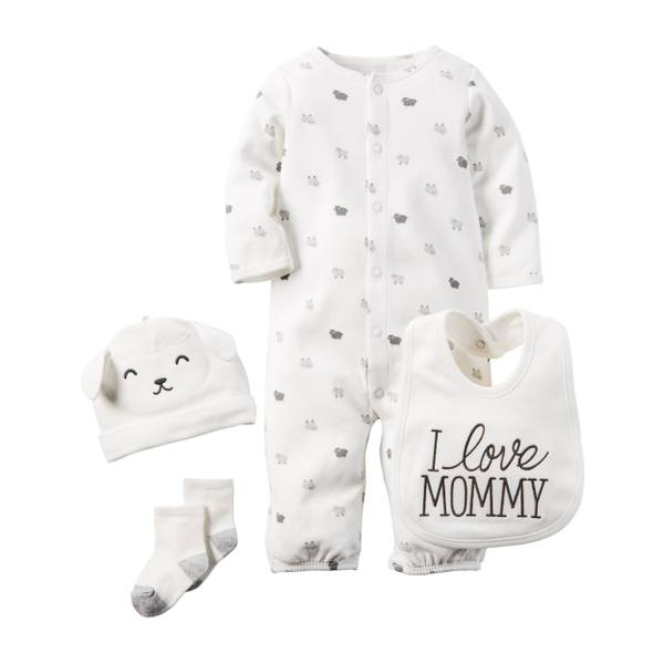 Baby 4-Piece Gift Set