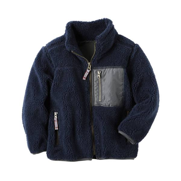 Boys'  Sherpa Zip-Up Jacket