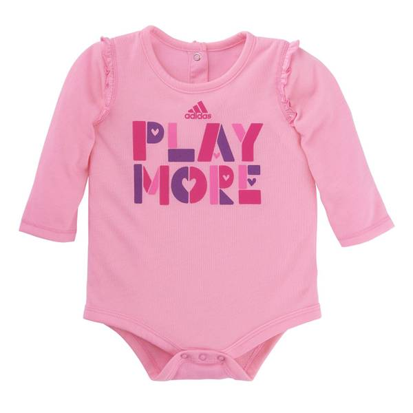 Baby Girls' Ruffle Sleeve Bodysuit