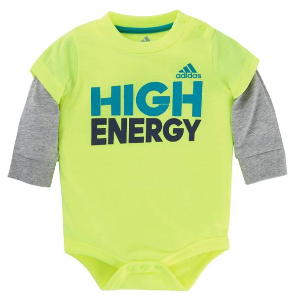 Baby Boys' Long Sleeve High Energy Bodysuit