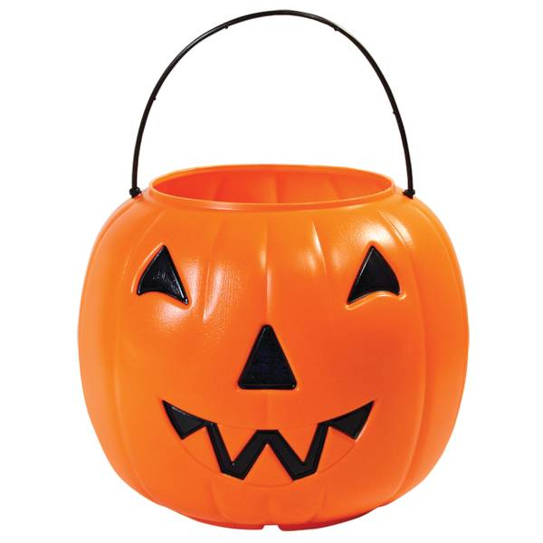 General Foam Plastics Corp Orange Jack O Lantern Pail
