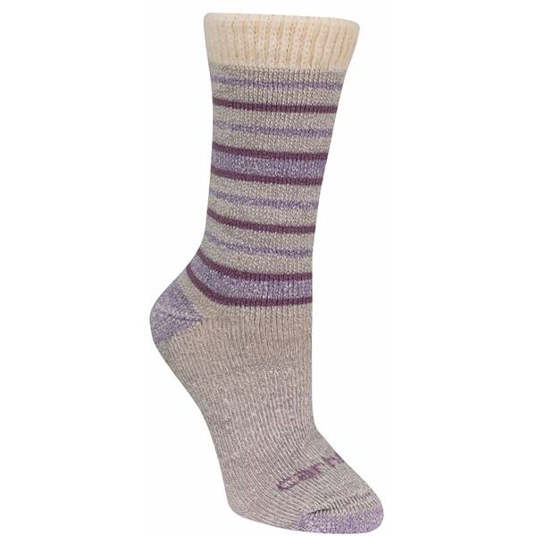 Women's Heavy Weight Sweatter Cuff Wool Boot Sock Blu