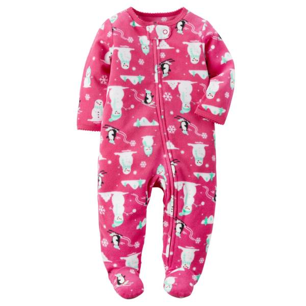 Baby Girls'  Sleep & Play Jumpsuit
