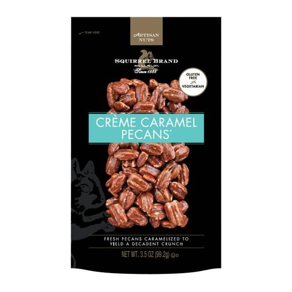 Squirrel Brand Creme Caramel Pecans