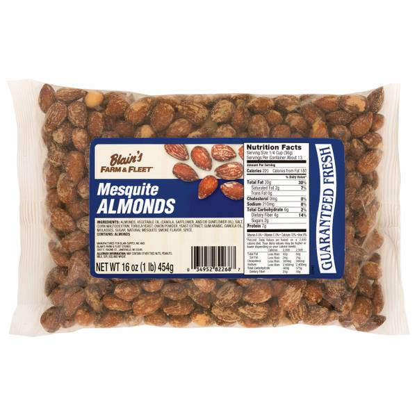 Blain's Farm & Fleet Mesquite Almonds